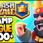 Clash Royale Champion League Giant vs Lava Loon  Gameplay Victories