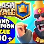 Clash Royale Grand champion league Giant Graveyard  Gameplay Victory