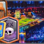 Clash Royale Grand champion league Giant Graveyard  Ladder Gameplay Victory