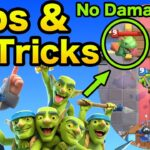 How to counter Baby Dragon by Goblin Gang (no damage) : Pro Tips & Tricks  | Clash Royale